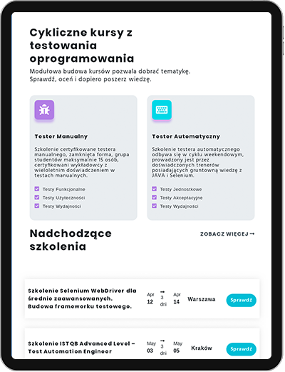 Agencja interaktywna projektujące i tworząca strony internetowe, aplikacje webowe Warszawa, cała Polska
