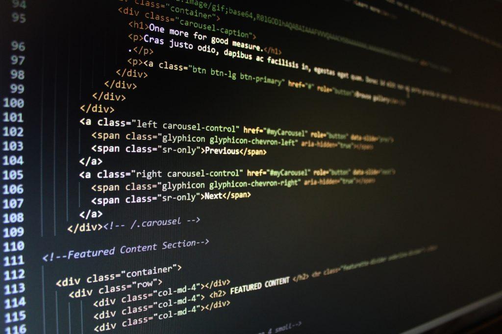 html jako język programowania