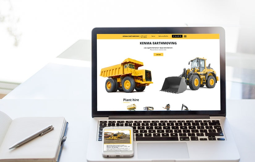 Design i zakodowanie szablonu Wordpress dla firmy z branży budowlanej